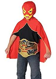 Luchador Halloween Costume Amazon Ramses Jr Lycra Youth Lucha Libre Wrestling Mask