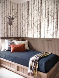birch grove fabric and wallpaper in greige and rich cream fabric