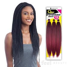 where to buy pre braided hair que synthetic hair braids 3x pre stretched braid 18 crochet