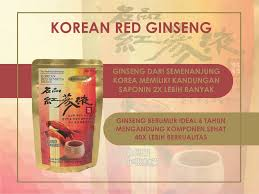 Minuman Ginseng Korea mnc shop korean ginseng adalah minuman yang terbuat