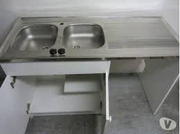 meuble de cuisine avec evier inox meuble sous evier avec lave vaisselle top ordinaire meuble sous