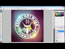 cara membuat logo bercahaya di photoshop tutorial membuat logo keren bercahaya photoshop cs3 tutorial