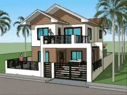 signature modern front elevation simple modern house plans bath