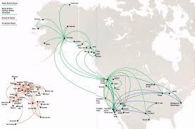 alaska air map airline maps