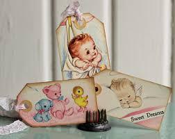 vintage baby shower etsy