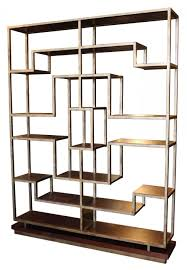 furniture home metal and wood 55 etagere bookcase 001 design