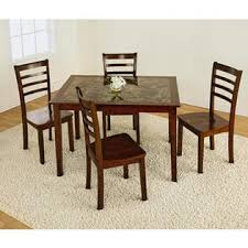 kmart furniture kitchen table 5pc faux marble dining set style at kmart