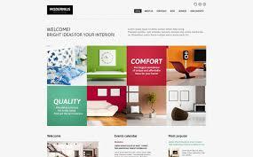 Interior Design Ideas Joomla Template - Interior design advertising ideas