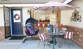 pier one thanksgiving decorations patriotic front porch makeover classy clutter