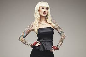 sabina kelley becomes first heavily tattooed vegas strip headliner