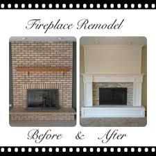 a brick fireplace fireplace design and ideas
