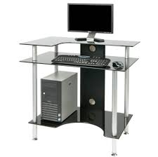 Corner Gaming Computer Desk by Furniture Narrow Small Computer Desk With Multiple Shelves And A