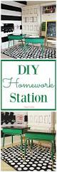 Kids Homework Station by Back To Diy Homework Stations That Will Make Your Kids Want