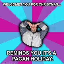 Anti Atheist Meme - atheist pagan christmas meme smash meme