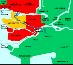 vancouver skytrain map vancouver columbia canada city guide