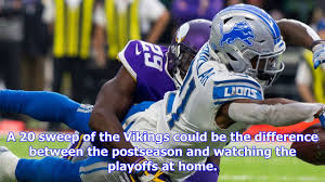 minnesota vikings vs detroit lions live nfl