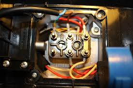 induction motor wiring