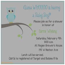 baby shower invitation best of sample baby shower invitations