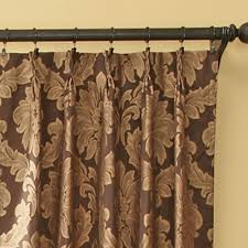 Thermal Pinch Pleat Drapes Darby Damask Pinch Pleat Curtain Pair Drapes