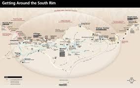 Grand Canyon Maps Lodging Grand Canyon National Park U S National Park Service
