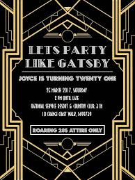 gatsby invitations best 25 great gats invitation ideas on deco great gatsby