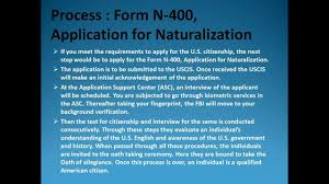 u s citizenship form n 400 application for naturalization youtube