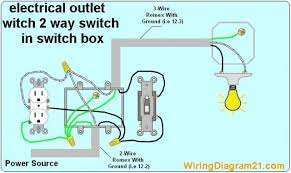 wire a light switch and outlet wonderful concept wiring diagram