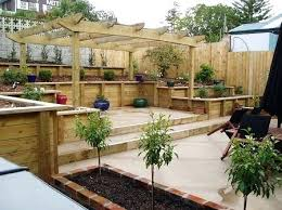 Landscaping Ideas For Slopes Sloped Backyard Landscaping Pictures Pool Design Ideas Good For A