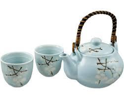 tea set green blossom tea set green japanese blossom tea set green