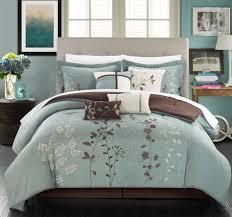 home design comforter 12 bliss garden embroidered floral design comforter set with