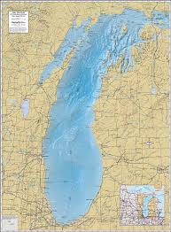 Coldwater Michigan Map by Michigan Map With Lakes Michigan Map
