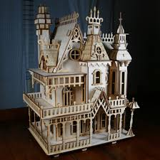 Gothic Victorian House Victorian Doll House Birch Plywood Laser Cut Kit I U0027ve Build Two Of