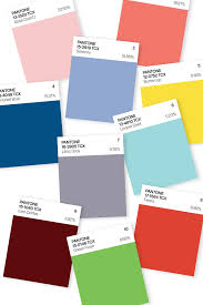 pantone u0027s top 10 colors for spring 2016 hint at calm u2013 wwd
