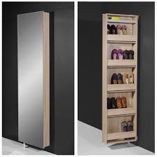 Mirrored Storage Cabinet Shoe Storage Cabinet With Mirror Home Design Ideas