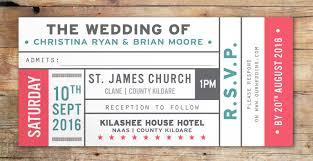 concert ticket invite template free printable invitation design