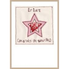 phd congratulations card personalised graduation congratulations card by milly and