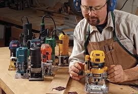 Fine Woodworking Dewalt Router Review by Tool Test Trim Routers Finewoodworking