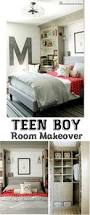 Teen Boy Room Decor Fall Home Tour Part 2 The Bedrooms Teen Boys Industrial And Teen