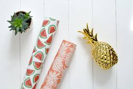 pineapple wrapping paper new in tropical buys burkatron