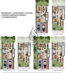 2 bedroom townhomes floor plan