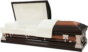 casket for sale 18 steel casket brushed copper brown finish prepayfuneral