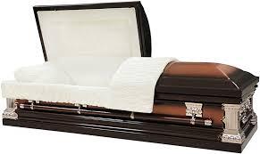 casket for sale 18 steel casket brushed copper brown finish prepayfuneral