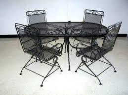 Metal Mesh Patio Table Metal Mesh Patio Furniture Quintessential Porch Coffee Table