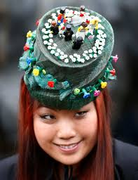 ladies day at royal ascot the hats go wild