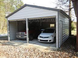2 car garage metal garage two car 2