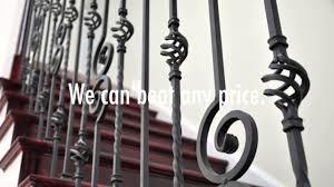 Metal Banisters Iron Stair Railings Los Angeles Custom Metal Railing Youtube