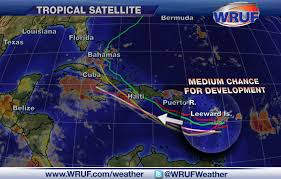 United States Satellite Weather Map by Tropical Wave Entering Caribbean Is One Of Many To Watch This Week