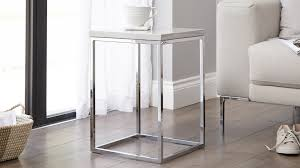 Small Side Table Quality Grey Gloss And Chrome Side Table Uk