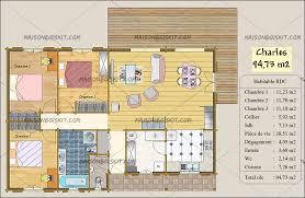 les 3 chambres plan petit chalet bois 3 chambres pas cher maisons