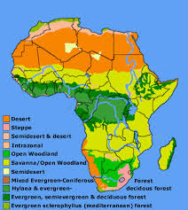 africa map climate zones aas 101